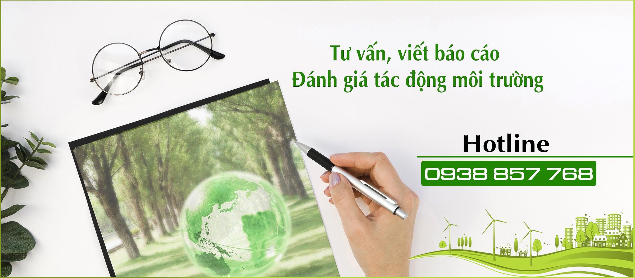 Tư vấn lập báo cáo đánh giá tác động môi trường